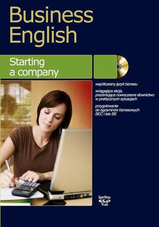 Okładka książki/ebooka Business English Starting a company