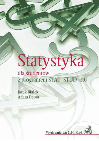 Okładka książki/ebooka Statystyka dla studentów z programem STAT_STUD 1.0