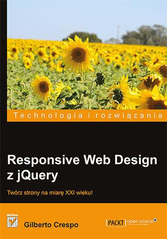 Okładka książki/ebooka Responsive Web Design z jQuery