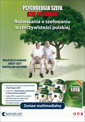 Okładka książki/ebooka Psychologia szefa. Zestaw multimedialny