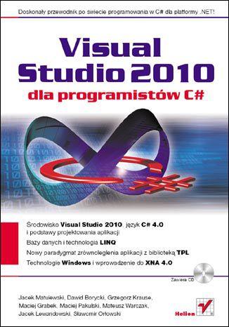 Okładka książki/ebooka Visual Studio 2010 dla programistów C#