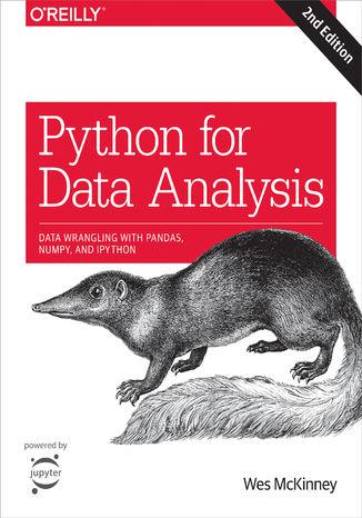 Okładka książki Python for Data Analysis. Data Wrangling with Pandas, NumPy, and IPython. 2nd Edition