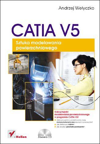Okładka książki/ebooka CATIA V5. Sztuka modelowania powierzchniowego