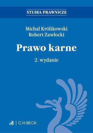 Okładka książki/ebooka Prawo karne. Wydanie 2