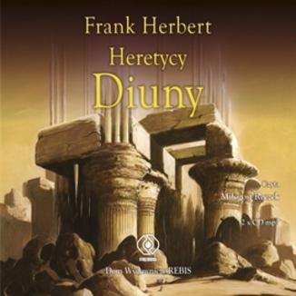 Okładka książki Kroniki Diuny (#5). Heretycy Diuny