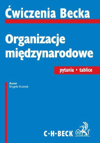 Okładka książki/ebooka Organizacje międzynarodowe. Pytania. Tablice