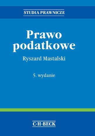 Okładka książki/ebooka Prawo podatkowe. Wydanie 5