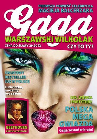 Okładka książki/ebooka Gaga. Warszawski wilkołak