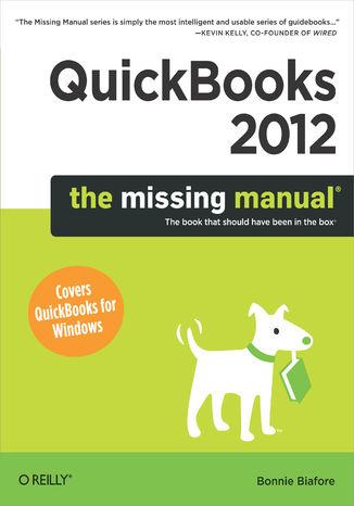 Okładka książki/ebooka QuickBooks 2012: The Missing Manual