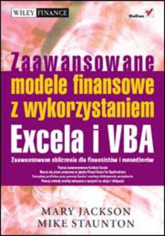 Okładka książki Zaawansowane modele finansowe z wykorzystaniem Excela i VBA