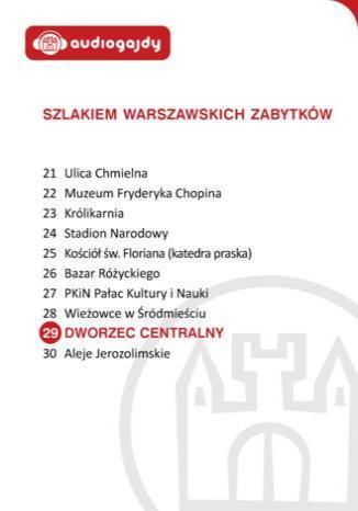 Okładka książki/ebooka Dworzec Centralny. Szlakiem warszawskich zabytków