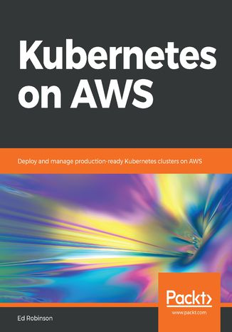 Okładka książki/ebooka Kubernetes on AWS