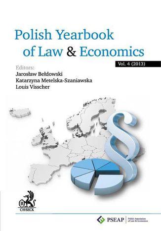 Okładka książki/ebooka Polish Yearbook of Law and Economics. Vol. 4 (2014)