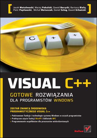 Okładka książki/ebooka Visual C++. Gotowe rozwiązania dla programistów Windows