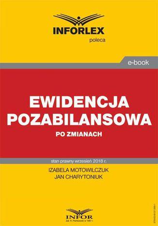 Okładka książki/ebooka Ewidencja pozabilansowa po zmianach