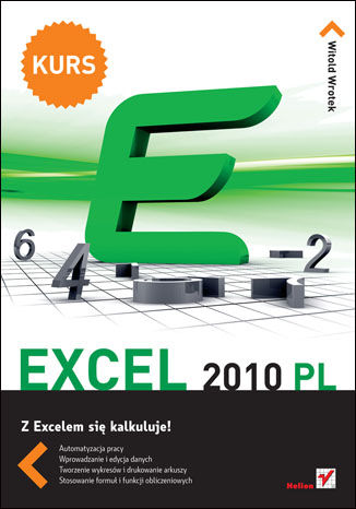 Okładka książki/ebooka Excel 2010 PL. Kurs
