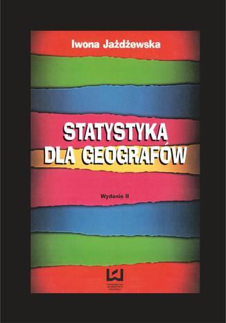 Okładka książki/ebooka Statystyka dla geografów
