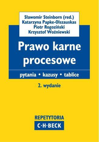 Okładka książki/ebooka Prawo karne procesowe Pytania. Kazusy. Tablice