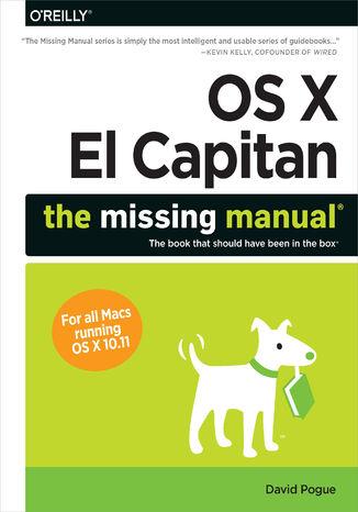 Okładka książki/ebooka OS X El Capitan: The Missing Manual