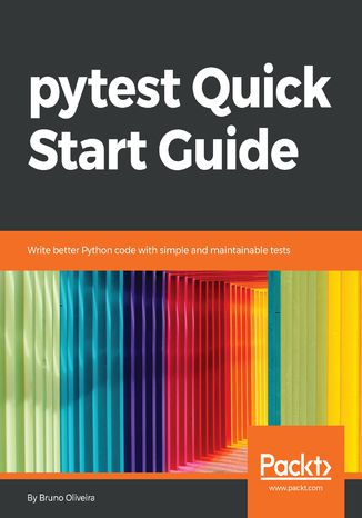 Okładka książki/ebooka pytest Quick Start Guide