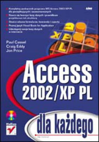 Okładka książki/ebooka Access 2002/XP PL dla każdego