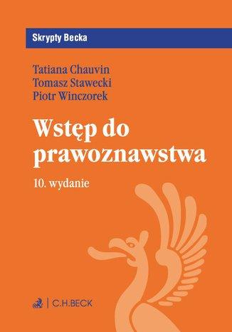 Okładka książki/ebooka Wstęp do prawoznawstwa. Wydanie 10