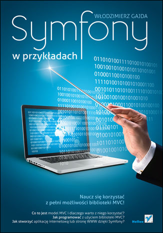Okładka książki/ebooka Symfony w przykładach
