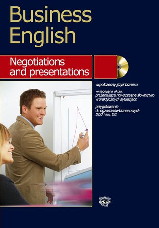 Okładka książki/ebooka Business English Negotiations and presentation
