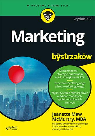 Okładka książki/ebooka Marketing dla bystrzaków. Wydanie V