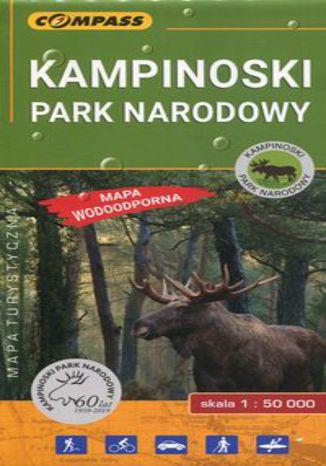 Okładka książki/ebooka Kampinoski Park Narodowy mapa turystyczna 1:50 000
