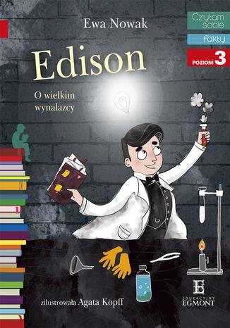 Okładka książki/ebooka Edison. O wielkim wynalazcy