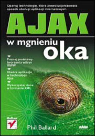 Okładka książki/ebooka AJAX w mgnieniu oka