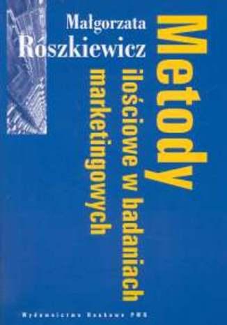 Okładka książki/ebooka Metody ilościowe w badaniach marketingowych
