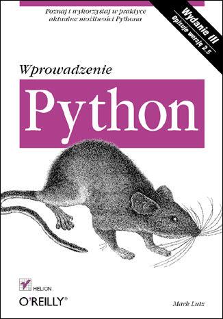 Okładka książki/ebooka Python. Wprowadzenie. Wydanie III