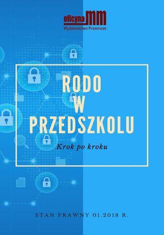 Okładka książki/ebooka RODO w przedszkolu. Krok po kroku