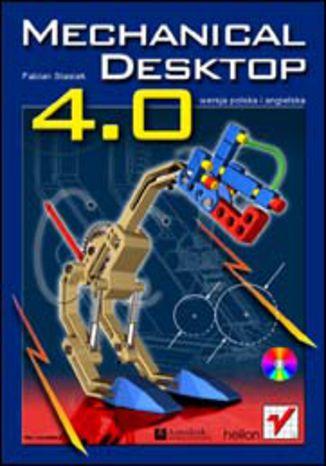Okładka książki/ebooka Mechanical Desktop 4.0PL/4.0