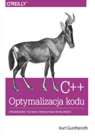 Okładka książki/ebooka C++ Optymalizacja kodu. Sprawdzone techniki zwiększania wydajności