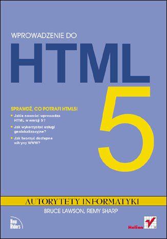Okładka książki/ebooka Wprowadzenie do HTML5. Autorytety Informatyki