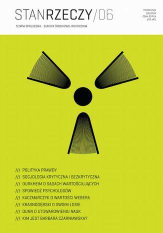 Okładka książki/ebooka Stan Rzeczy 2014/1 (6). Teoria społeczna. Europa Środkowo-Wschodnia