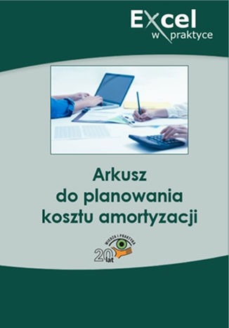 Okładka książki/ebooka Arkusz do planowania kosztu amortyzacji