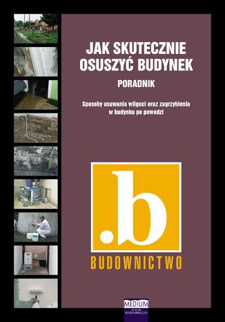 Okładka książki/ebooka Jak skutecznie osuszyć budynek. Sposoby usuwania wilgoci oraz zagrzybienia w budynku po powodzi. Poradnik