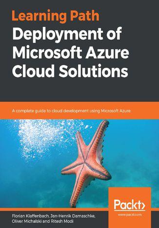 Okładka książki/ebooka Deployment of Microsoft Azure Cloud Solutions