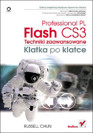 Okładka książki/ebooka Flash CS3 Professional PL. Techniki zaawansowane. Klatka po klatce