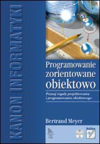 Okładka książki/ebooka Programowanie zorientowane obiektowo
