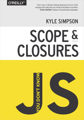 Okładka książki/ebooka You Don't Know JS: Scope & Closures
