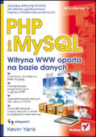 Okładka książki/ebooka PHP i MySQL. Witryna WWW oparta na bazie danych. Wydanie III