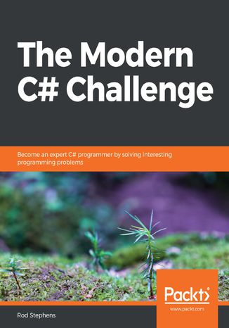 Okładka książki/ebooka The Modern C# Challenge