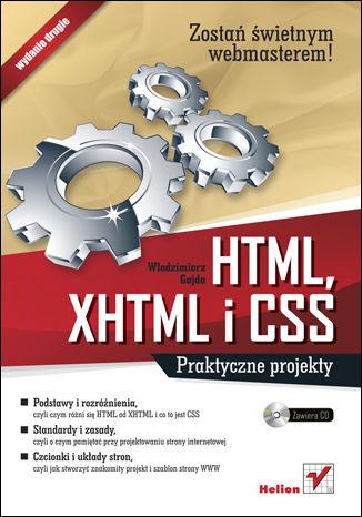 Okładka książki/ebooka HTML, XHTML i CSS. Praktyczne projekty. Wydanie II
