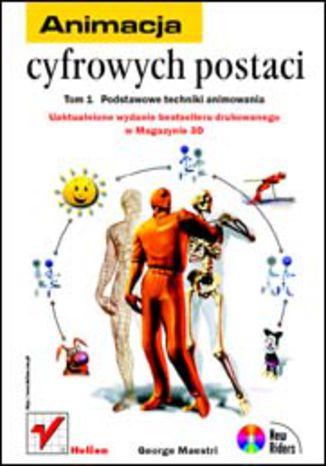 Okładka książki/ebooka Animacja cyfrowych postaci