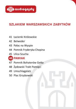 Okładka książki/ebooka Pawiak. Szlakiem warszawskich zabytków